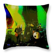 Mule #8 Psychedically Enhanced Image Throw Pillow