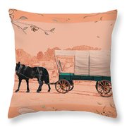 Mule Days - Westmoreland Tn  9-28-13  2 Throw Pillow