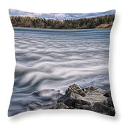 Mulholland Point Lighthouse Throw Pillow