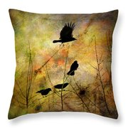 Muliti-colored Dreams Throw Pillow