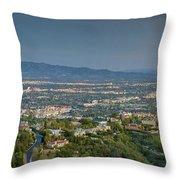 Mullholland Estates Luxury Residences San Fernando Valley Ca Throw Pillow