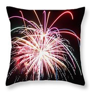 4th Of July Fireworks 8 Throw Pillow