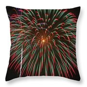 4th Of July Fireworks 16 Throw Pillow