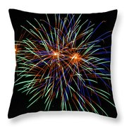 4th Of July Fireworks 22 Throw Pillow