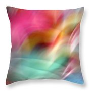 Multi-color Floral Throw Pillow