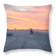 Multi Color Skies - Cape May New Jersey Throw Pillow