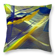 Multicolor Mesh Throw Pillow