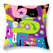 Multifactorialexpoteria Throw Pillow