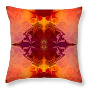 Multilayered Realities Abstract Pattern Artwork By Omaste Witkow Throw Pillow