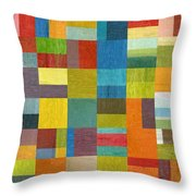 Multiple Exposures Lll Throw Pillow