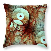 Multiple Targets Throw Pillow
