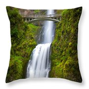 Multnomah Panorama Throw Pillow
