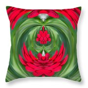 Mum Abstract C Square Throw Pillow