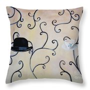 Mum And Dad Throw Pillow
