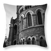Mumbai University Bw Throw Pillow