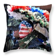 Mummer12 Throw Pillow