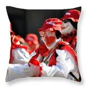 Mummer16 Throw Pillow