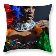 Mummer4 Throw Pillow
