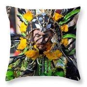 Mummer6 Throw Pillow