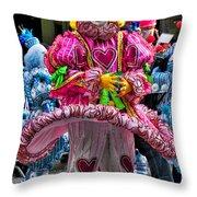 Mummers Underpants Throw Pillow