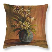 Mums For Mom Throw Pillow