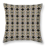 Mums In White Design Throw Pillow