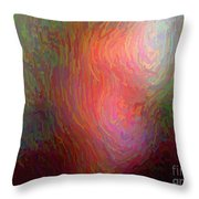 Munchist I Cannot See Clearly Throw Pillow