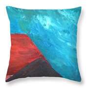 Munich - Church Of Our Lady At Dawn - Triptych - IIi Of IIi Throw Pillow