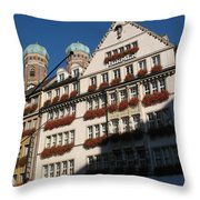 Munich City Throw Pillow