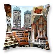Munich Liebfrau Throw Pillow