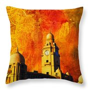 Municipal Corporation Karachi Throw Pillow