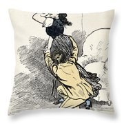 Murger: Vie De Boheme Throw Pillow