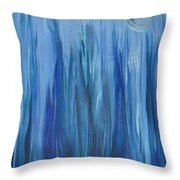 Murky Waters  Throw Pillow