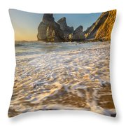Murmur Of The Pebbles Throw Pillow