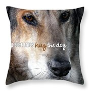 Murphy Quote Throw Pillow
