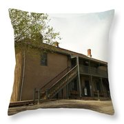 Murphy Store Lincoln City New Mexico   Throw Pillow by Jeff Swan