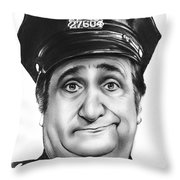 Murray The Cop Throw Pillow