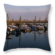 Murrels Inlet South Carolina Throw Pillow