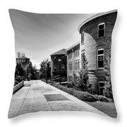 Murrow Complex East - Washington State University Throw Pillow