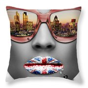 Musa London Throw Pillow