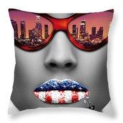 Musa Los Angeles Throw Pillow