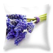Muscari Bunch Throw Pillow