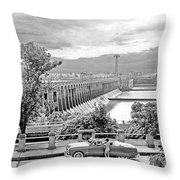 Muscle Shoals Throw Pillow by Chuck Staley