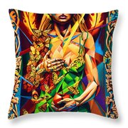 Muse  Autumn Throw Pillow