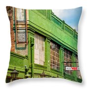 Musee Conti -wax Museum Nola Throw Pillow