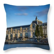 Musee D'orsay Evening Throw Pillow