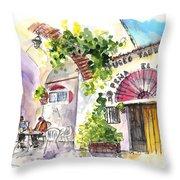 Museo Taurino De Alcazar De San Juan Throw Pillow