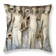 Muses And Poets Throw Pillow