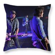 Museum-6751 Throw Pillow