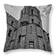 Museum At The Castle  8301 Throw Pillow